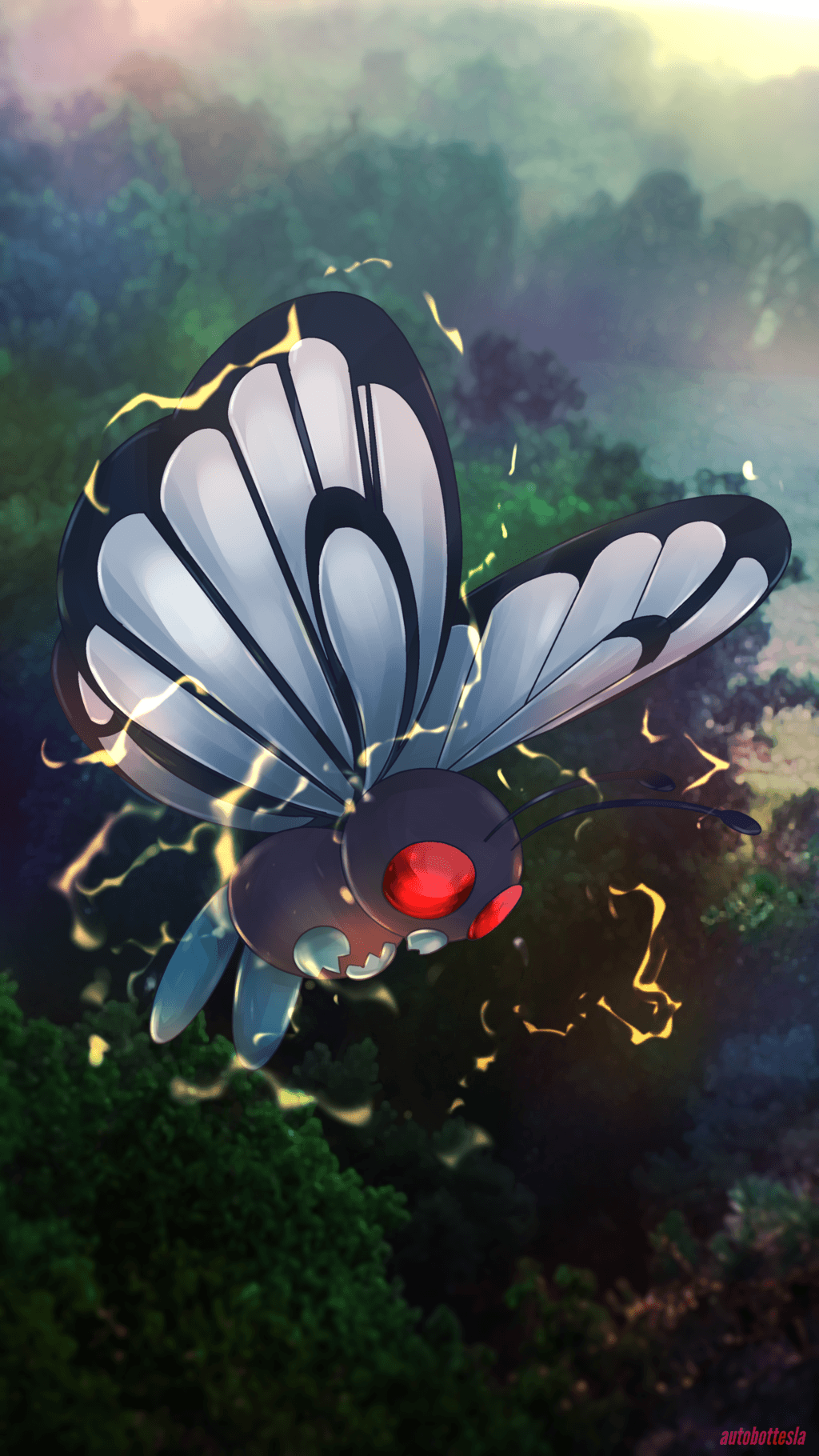 Day 387 - Butterfree by AutobotTesla.deviantart.com on @DeviantArt ...