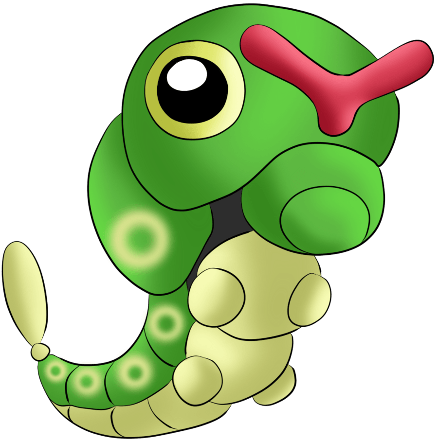 010 Caterpie by Icedragon300 on DeviantArt