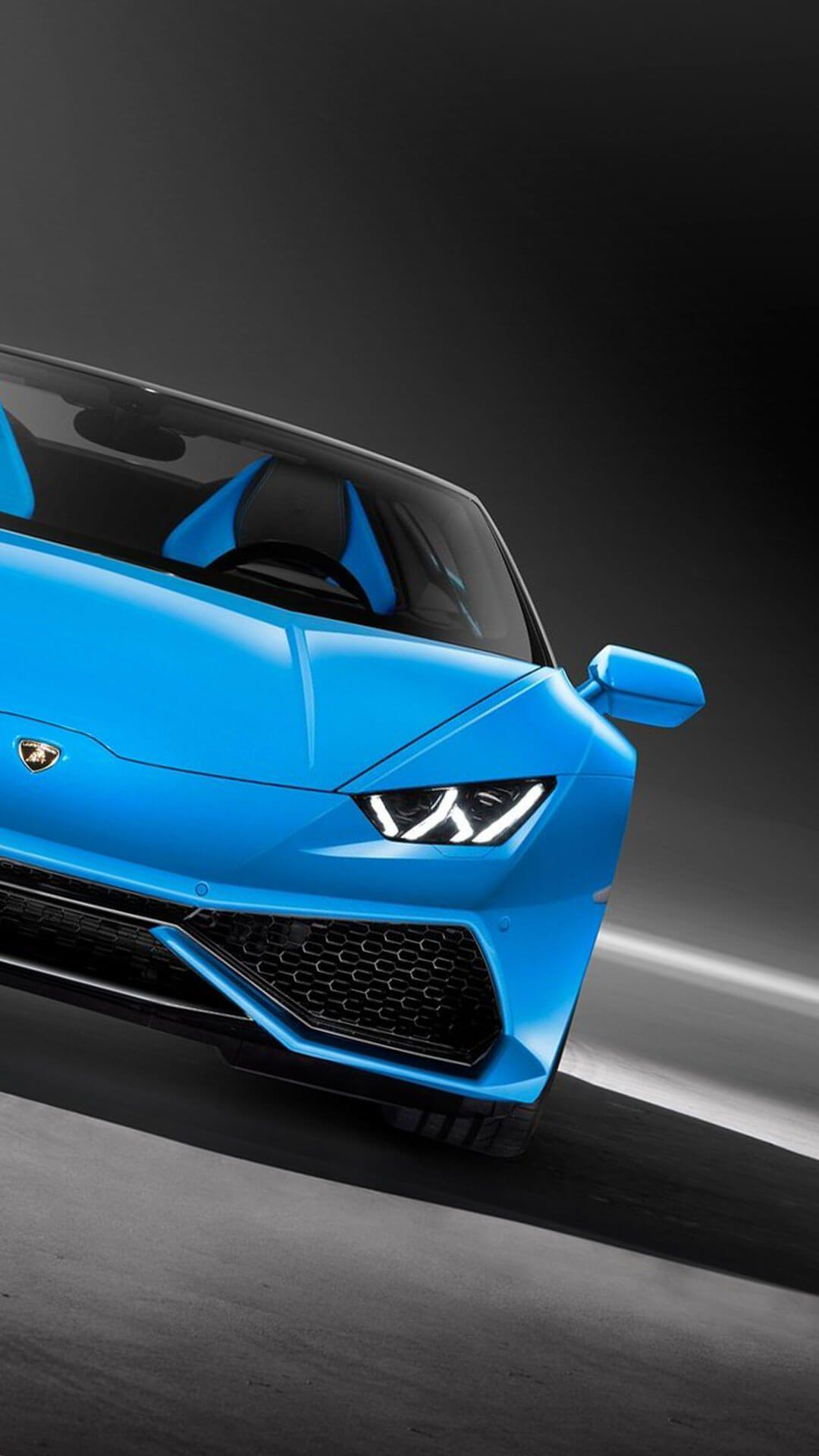Lamborghini Blue Wallpapers Wallpaper Cave