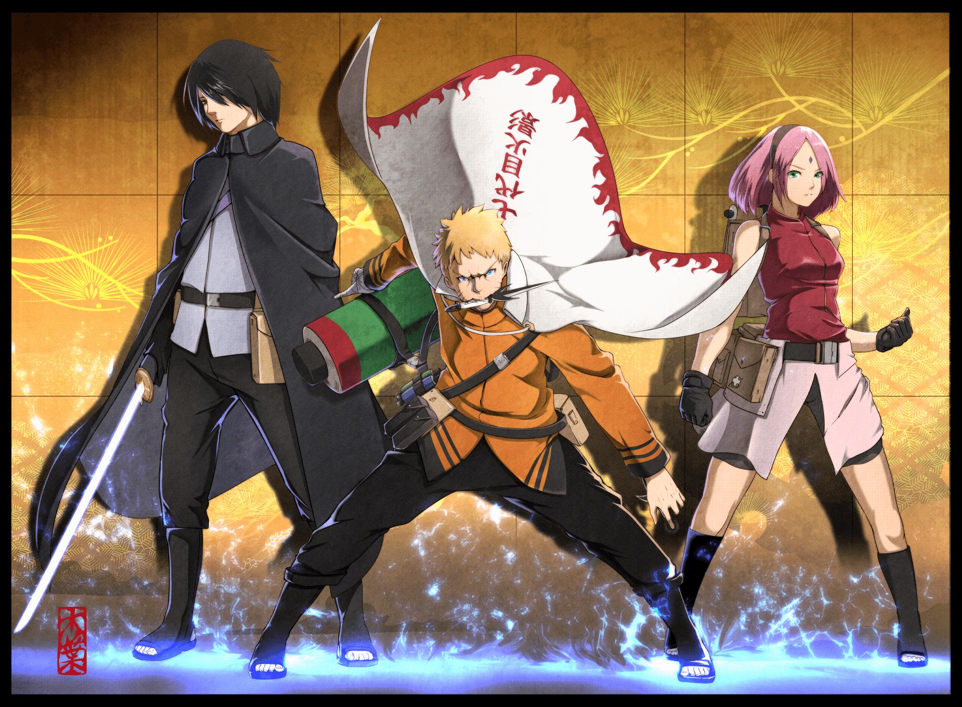 102+ Gambar Keren Naruto Boruto Terbaru