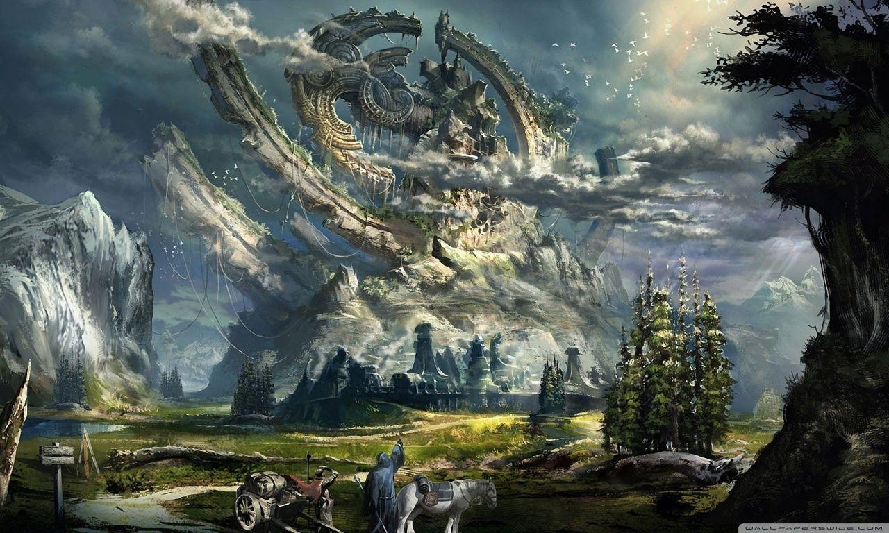 Absolutely Fantastic Hd Fantasy Wallpapers: Wallpapers HD Widescreen Fantasy