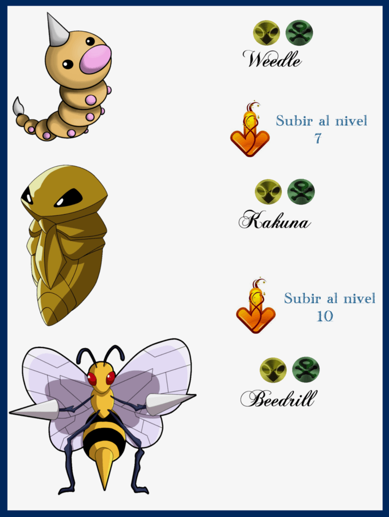 005 Weedle Evoluciones by Maxconnery