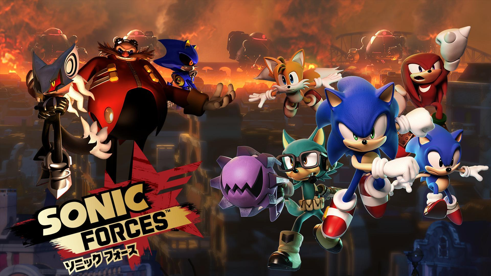 Sonic Forces Wallpapers Wallpaper Cave