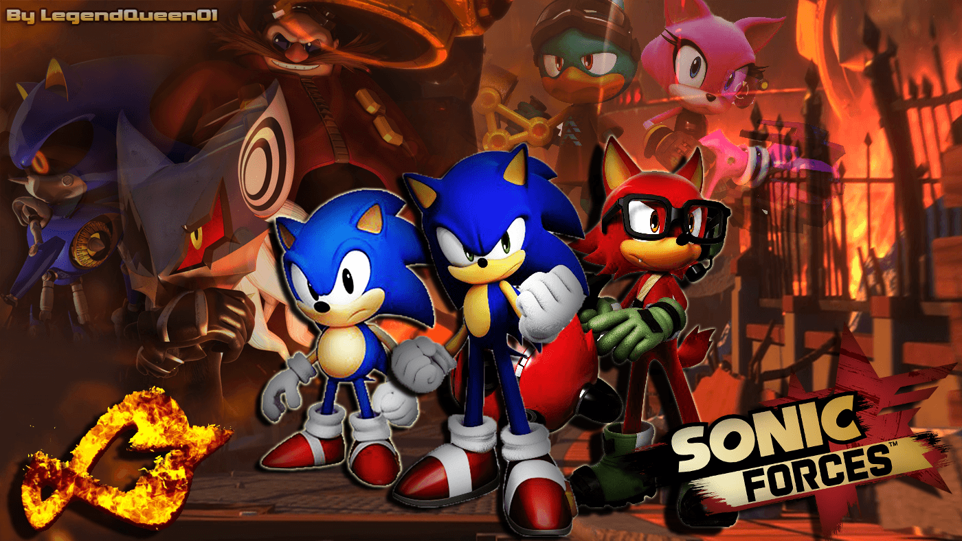 Sonic Forces Wallpapers - Wallpaper Cave
