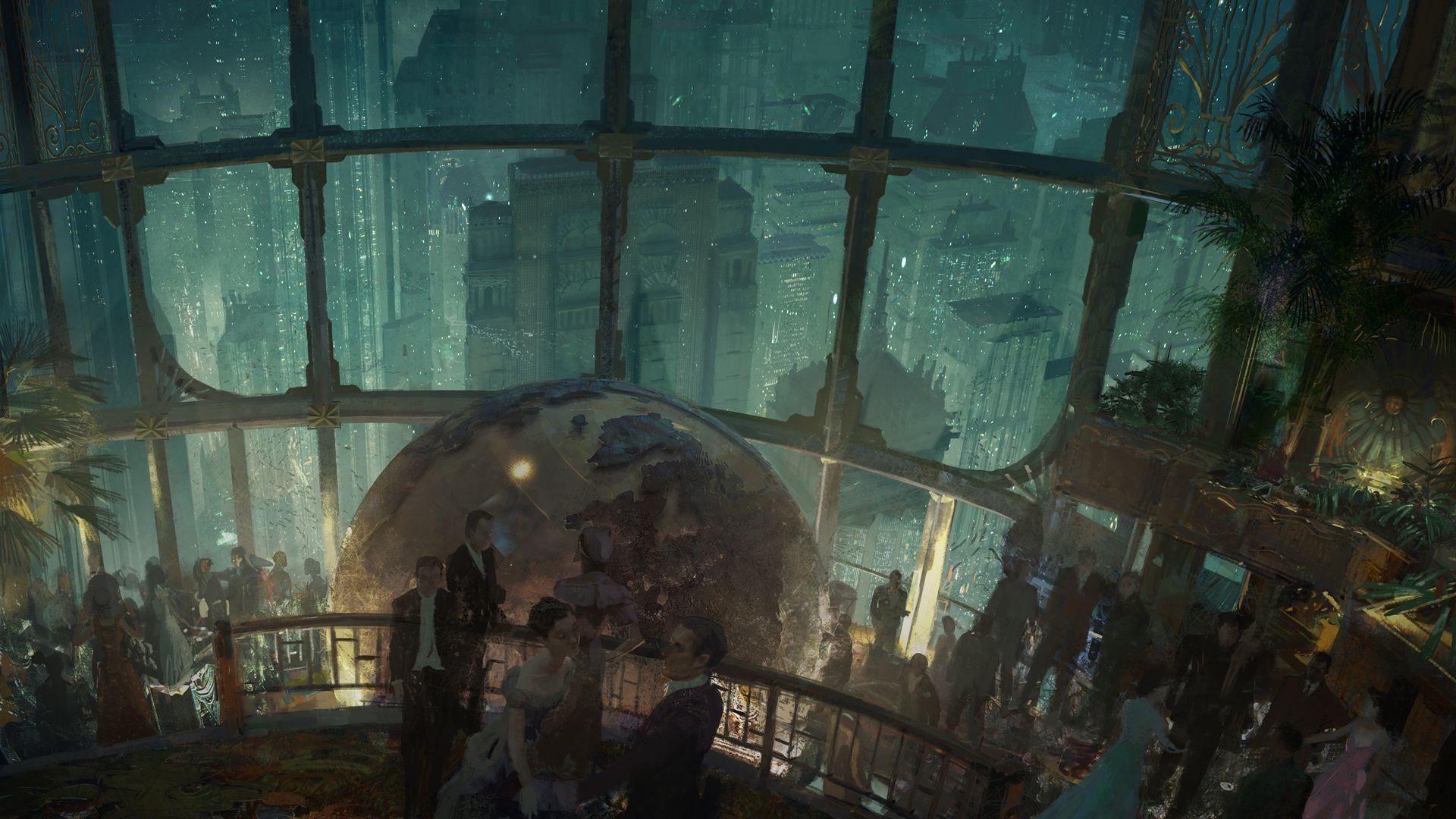k iphone x wallpaper __Bioshock Infinite Live