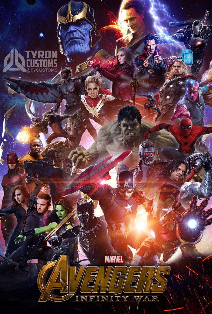 avengers infinity war 2018 wallpapers  wallpaper cave