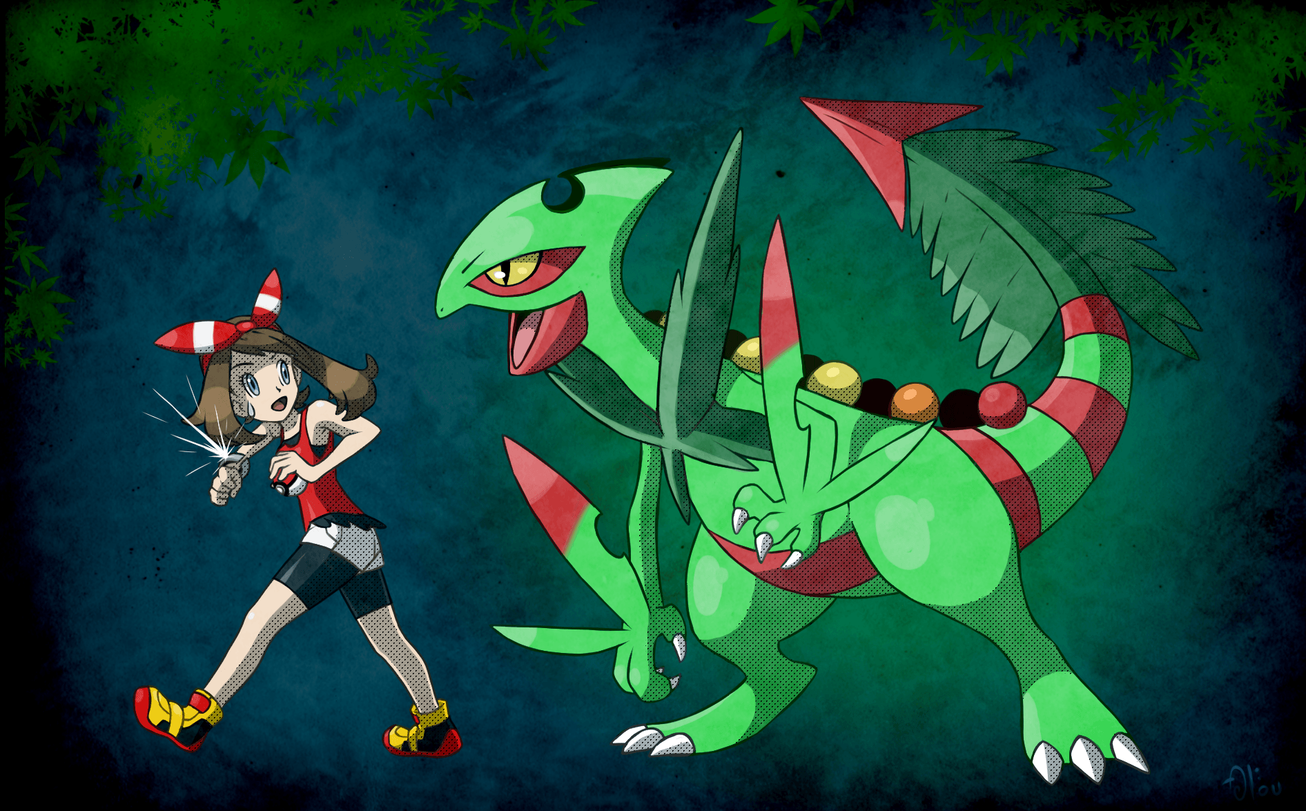 All and Mega Sceptile by All0412