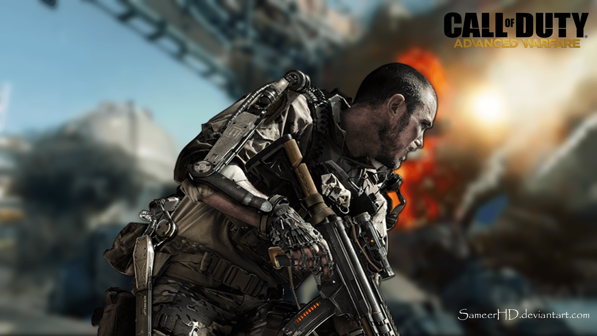 IPhone S C Call Of Duty Advanced Warfare Wallpapers HD