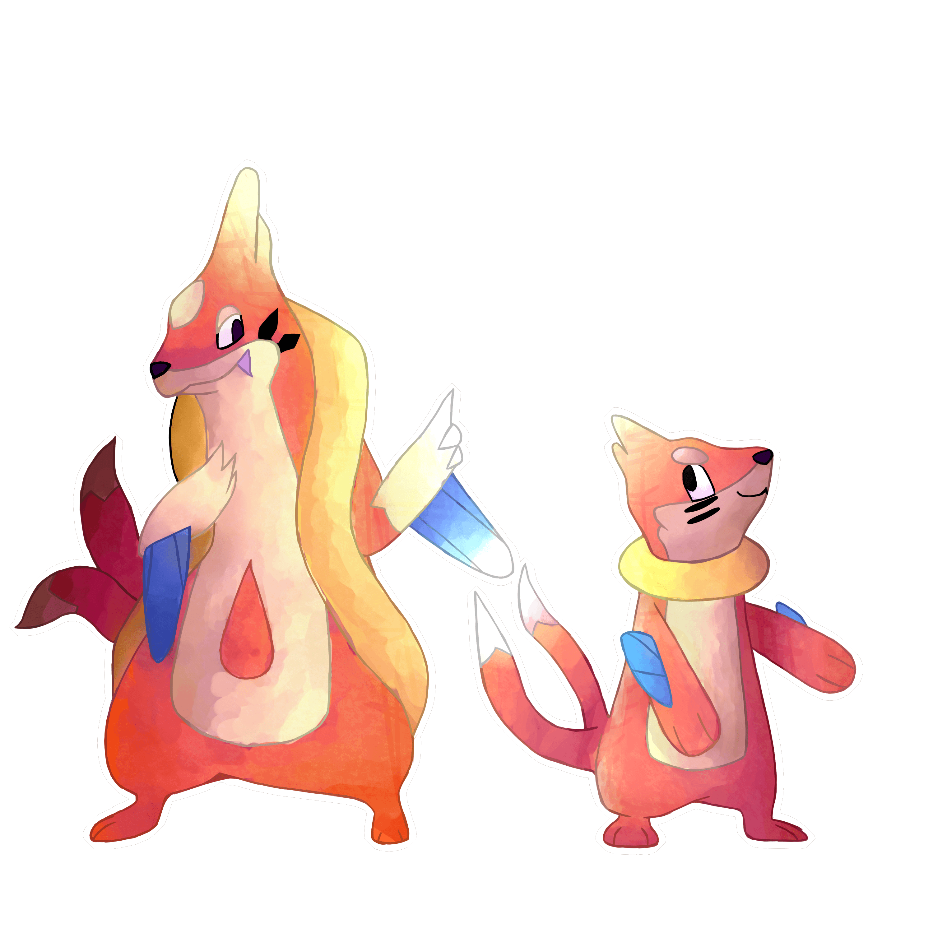 I drew Floatzel and Buizel | Pokemon | Pinterest | Pokémon, Pokemon ...