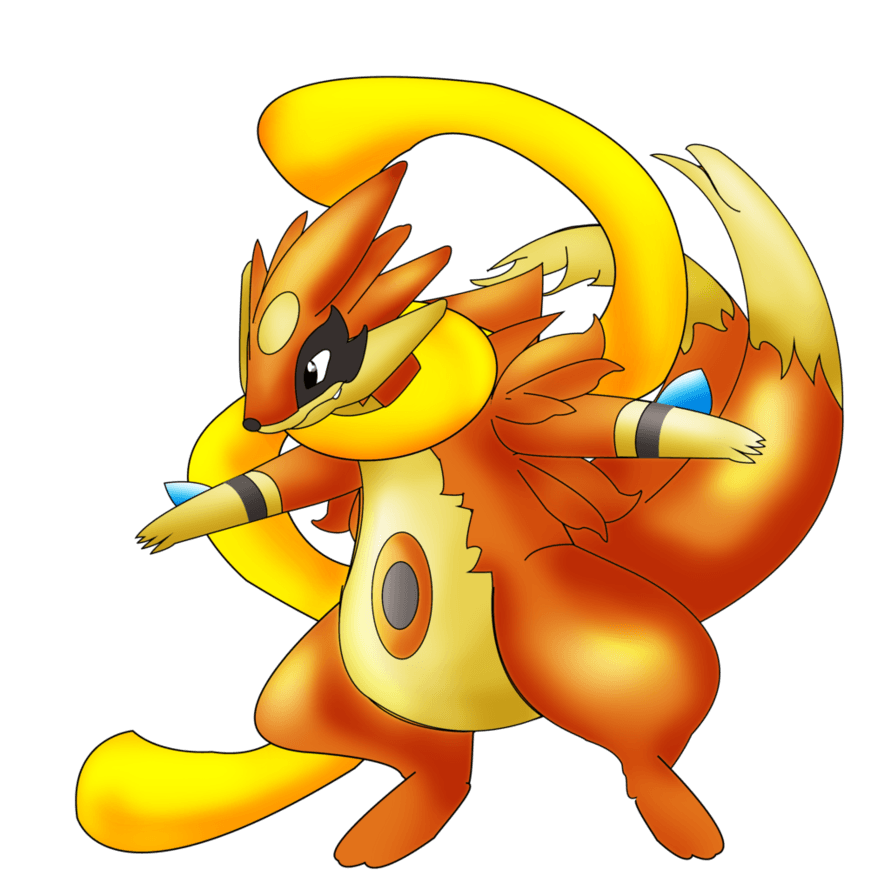 Mega Floatzel by Jordanqv