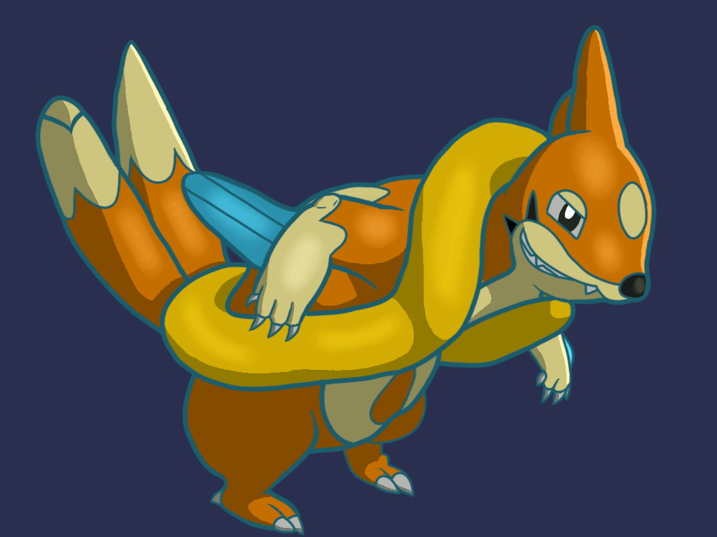 Floatzel by Glen