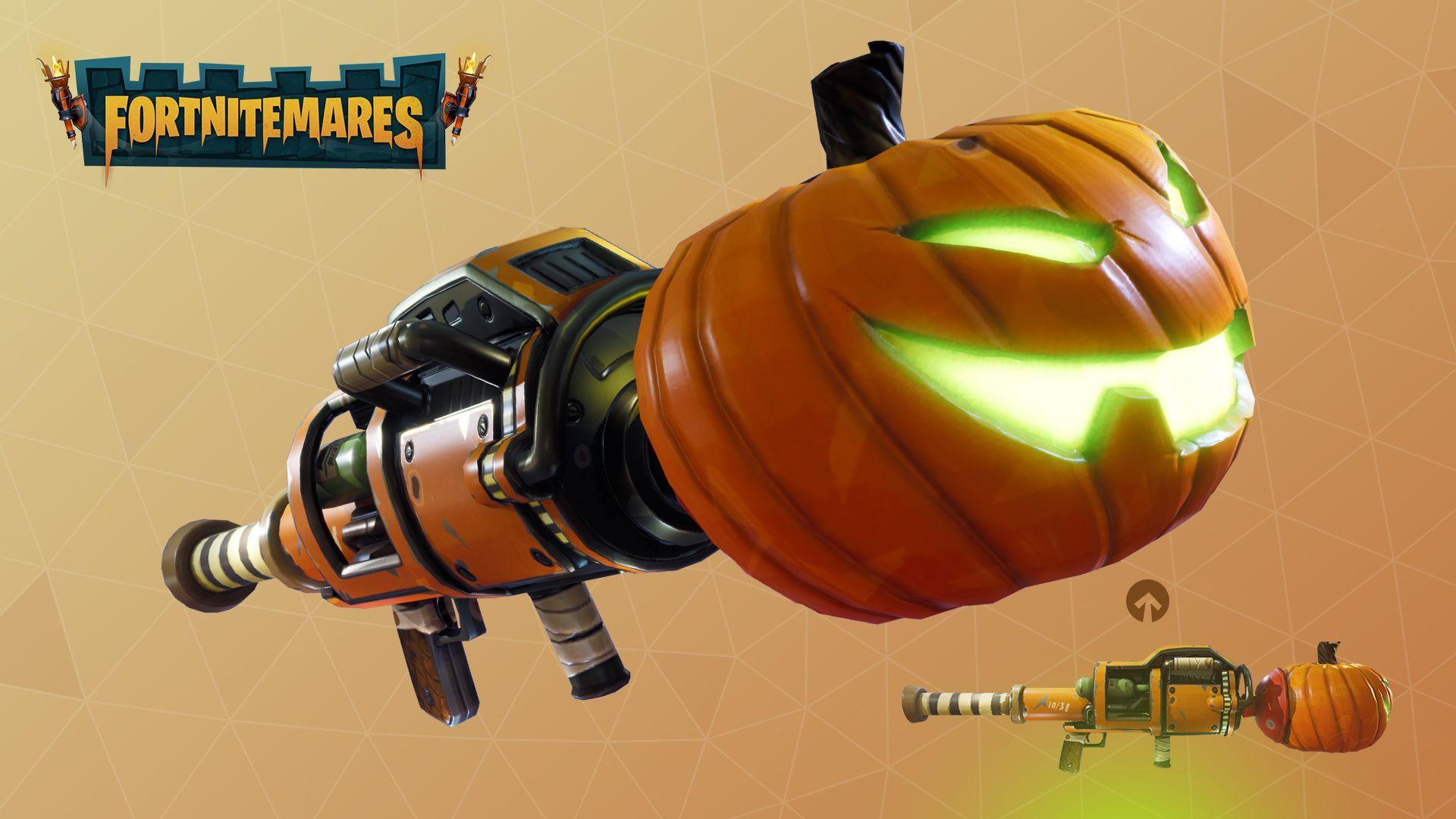 フォートナイトの武器かぼちゃ