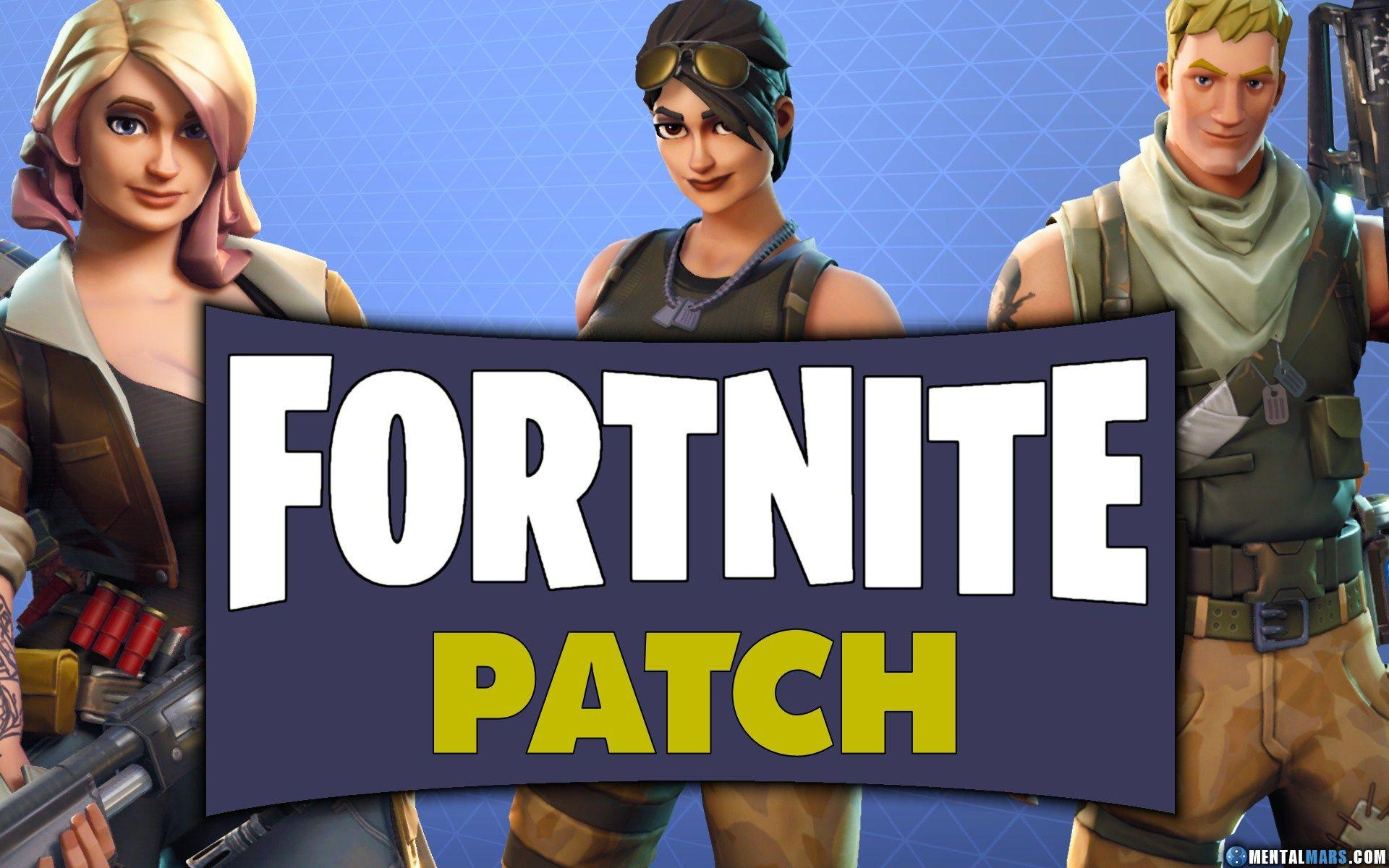 Fortnite has been updated once more following yesterdays 34 patch Here are the patch notes for version 341