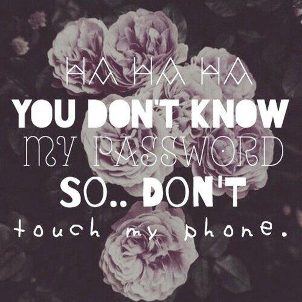 Hahaha You Dont Know My Password Wallpapers Wallpaper Cave
