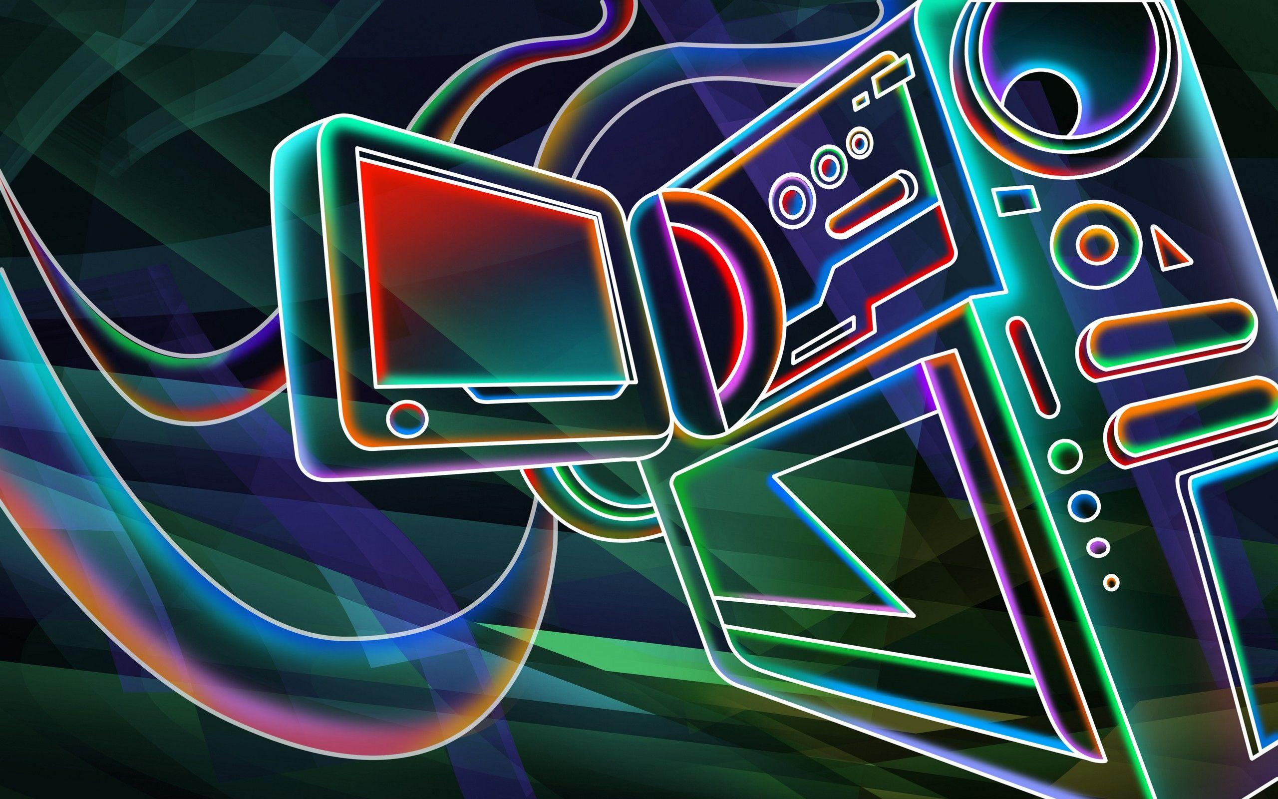 Download 76 Wallpaper 3d Neon Paling Keren