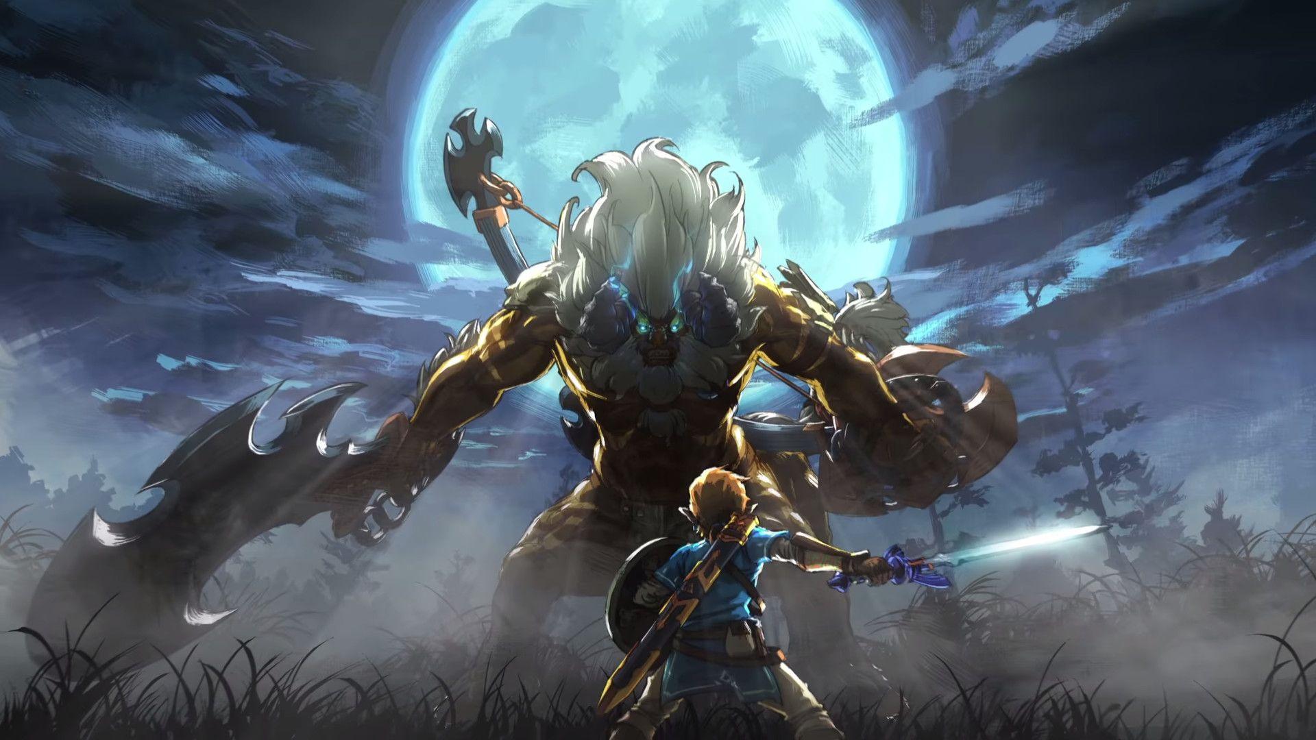 Legend Of Zelda: Breath Of The Wild Wallpapers - Wallpaper ...