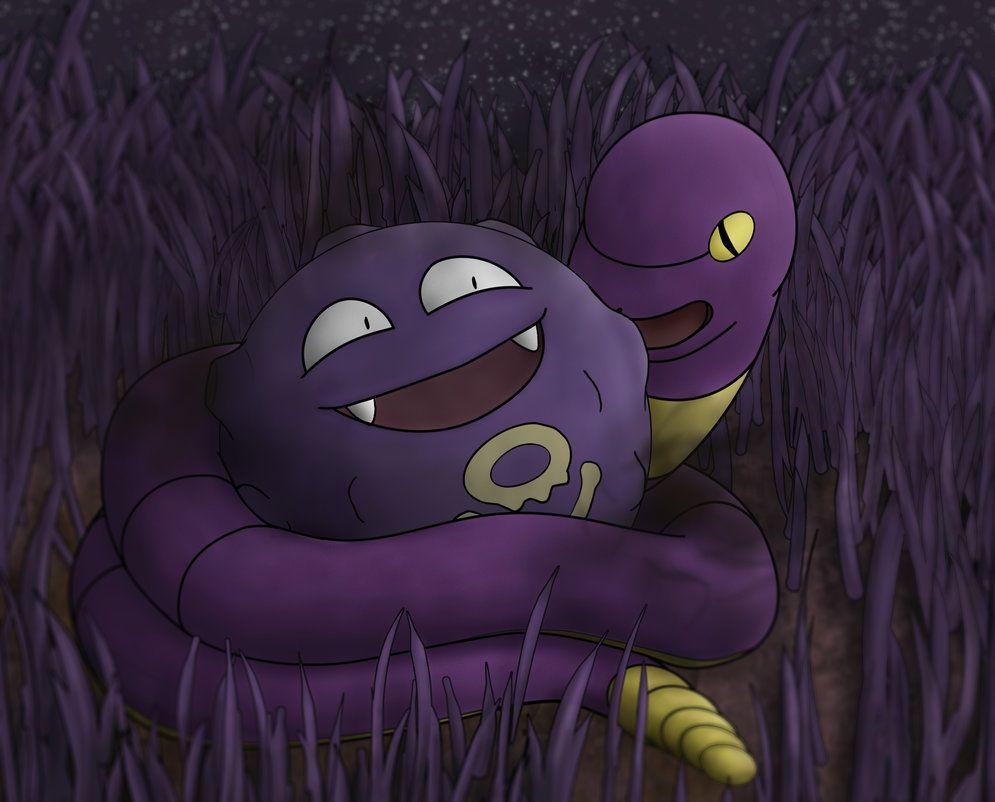 Koffing and Ekans by Equivirial