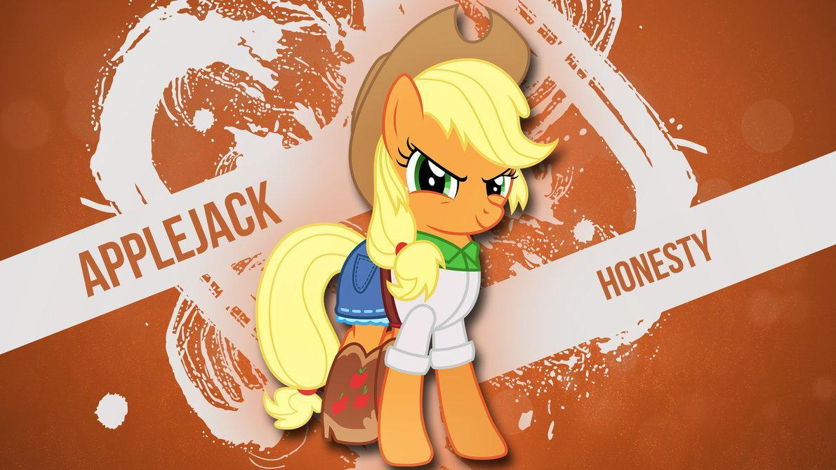 Equestria Daily - MLP Stuff!: AJ Day - 53 Applejack Wallpapers To ...