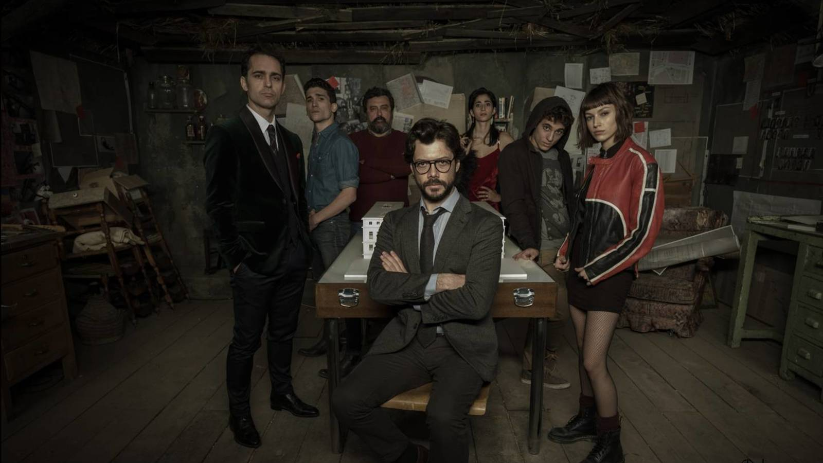 la casa de papel wallpapers