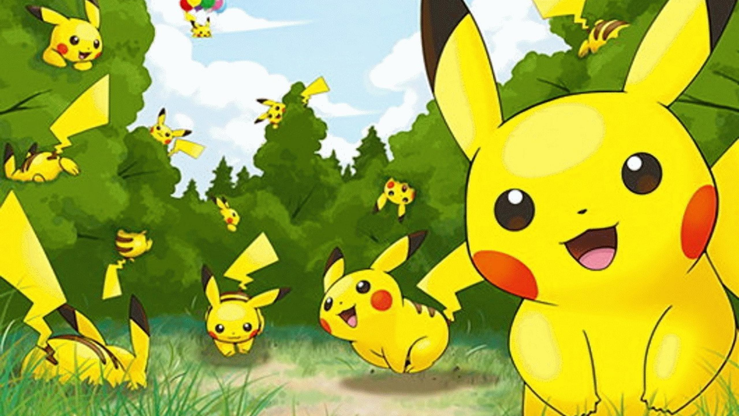 Awesome Pokemon Pikachu Hd Image Wallpaper Backgrounds For Laptop ...