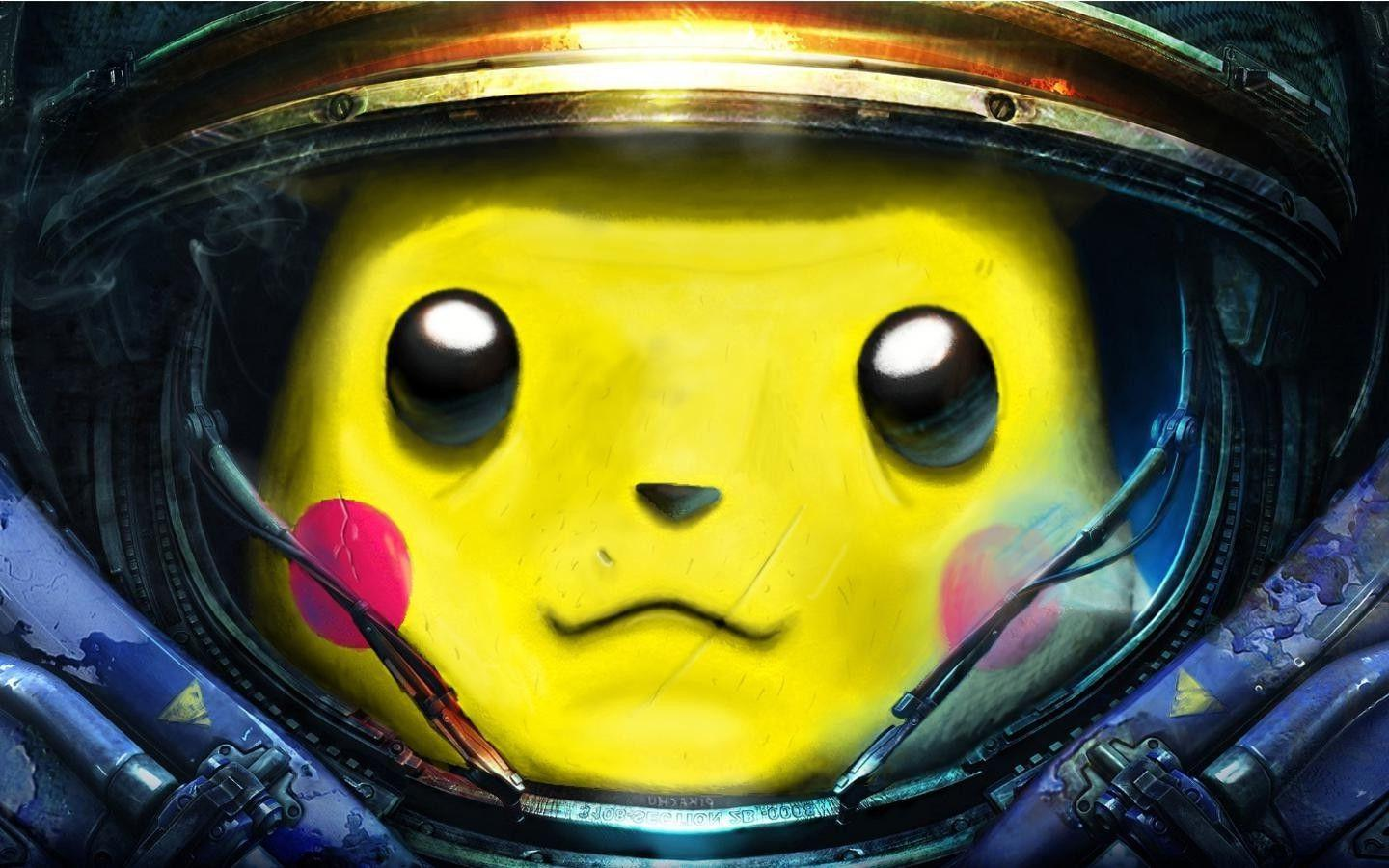 Pikachu, Starcraft II Wallpapers HD / Desktop and Mobile Backgrounds