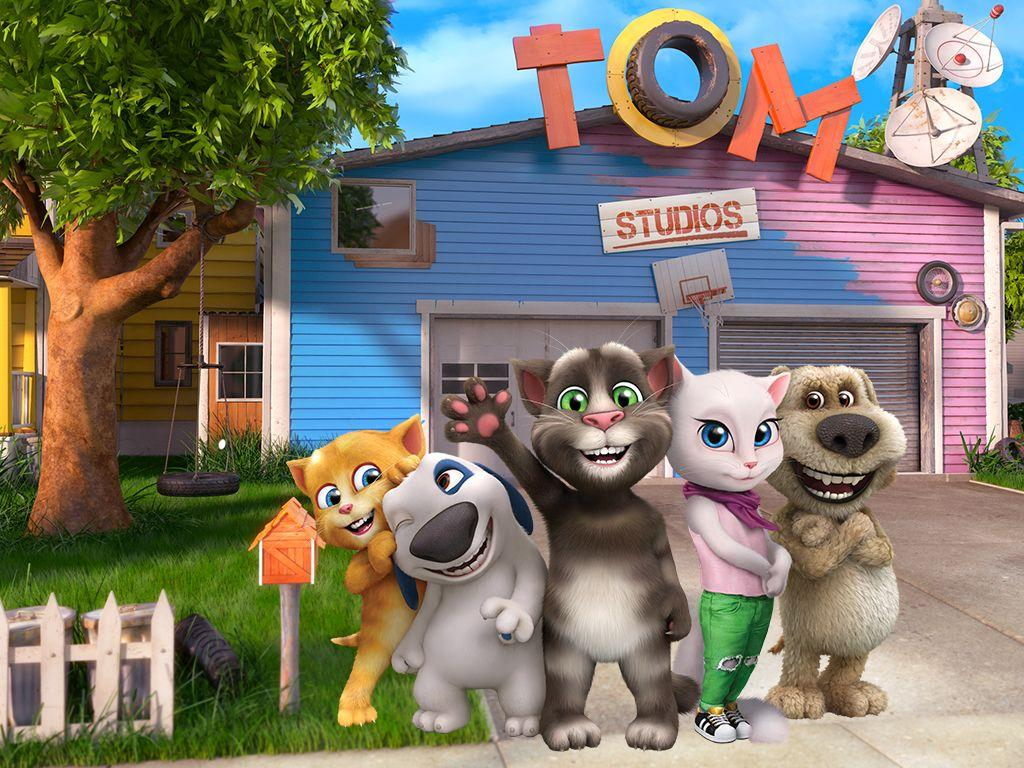 Talking Tom And Friends Wallpapers Wallpaper Cave