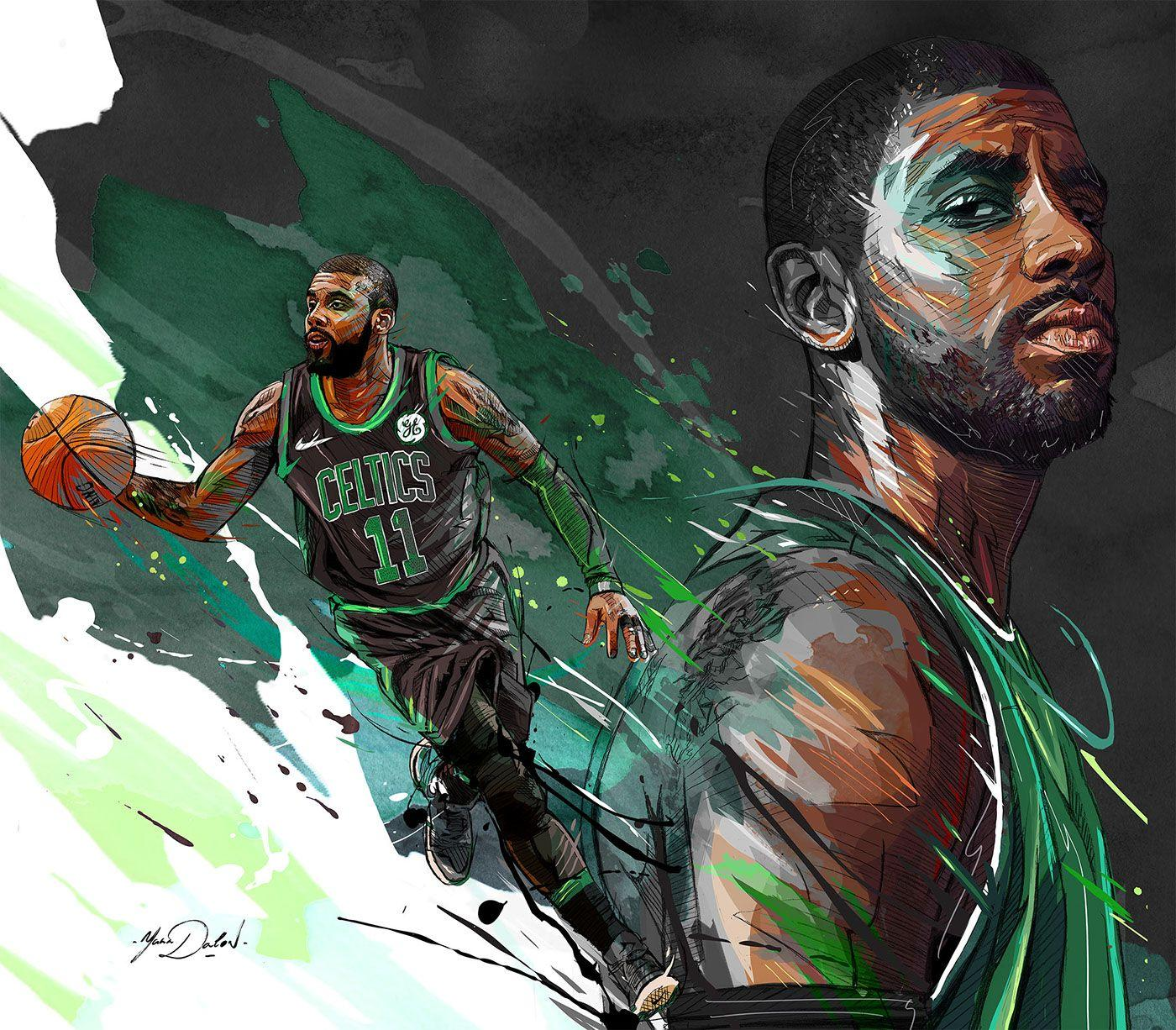 NBA- Kyrie Irving on Behance