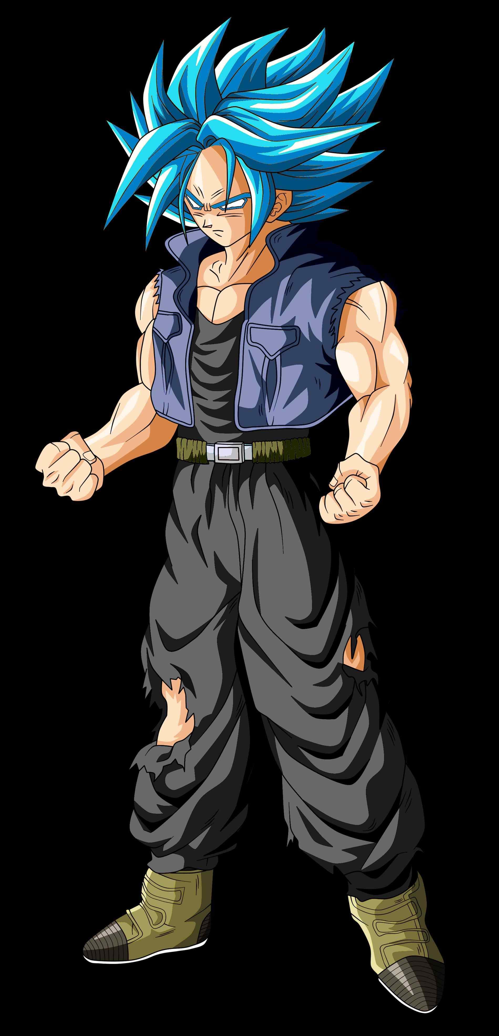 Future Trunks Super Saiyan 4