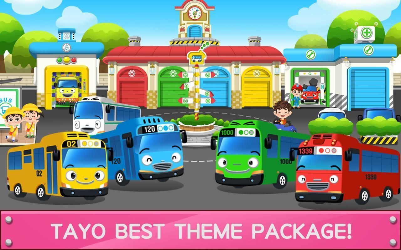 Tayo The Little Bus Wallpapers Wallpaper Cave
