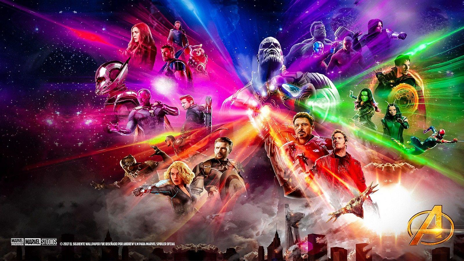 Beautiful Avengers Infinity War Cast Wallpaper – Tanvir Islam – Medium