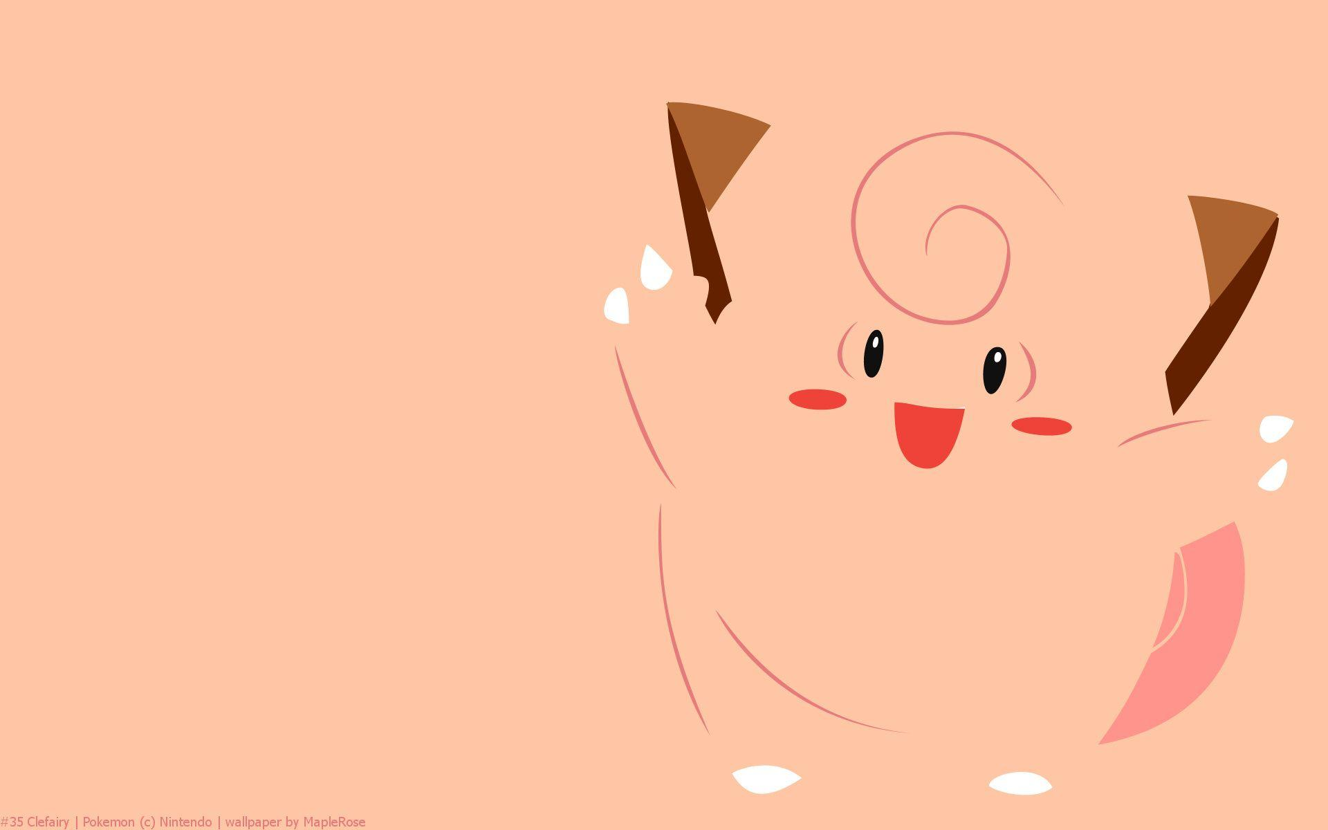 Clefairy Pokemon HD Wallpaper - Free HD wallpapers, Iphone ...