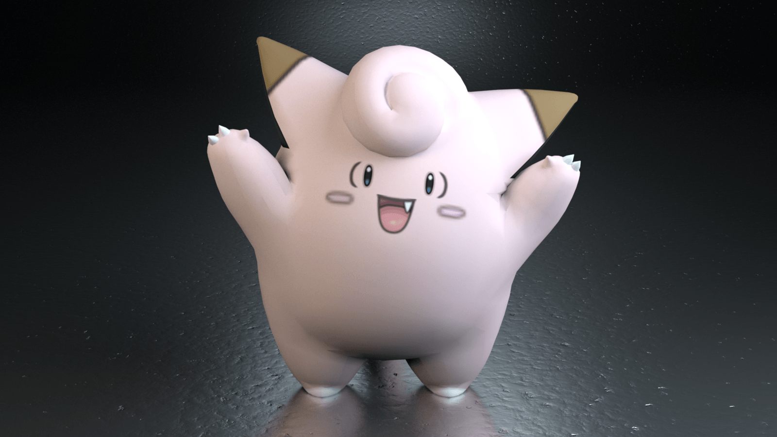 035. Clefairy by TheAdorableOshawott on DeviantArt