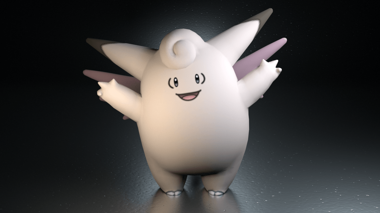 036. Clefable by TheAdorableOshawott on DeviantArt