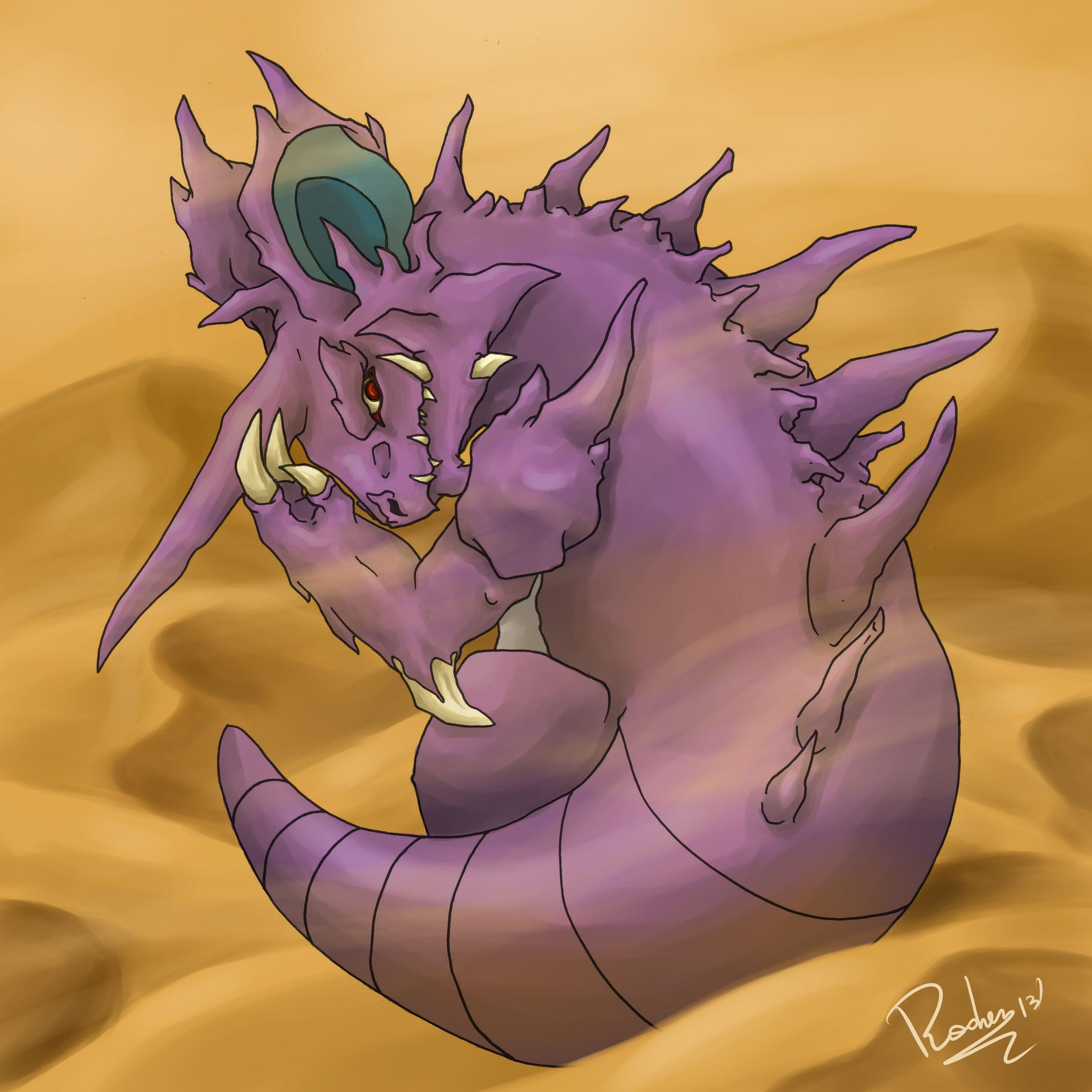 Nidoking by Radven on DeviantArt