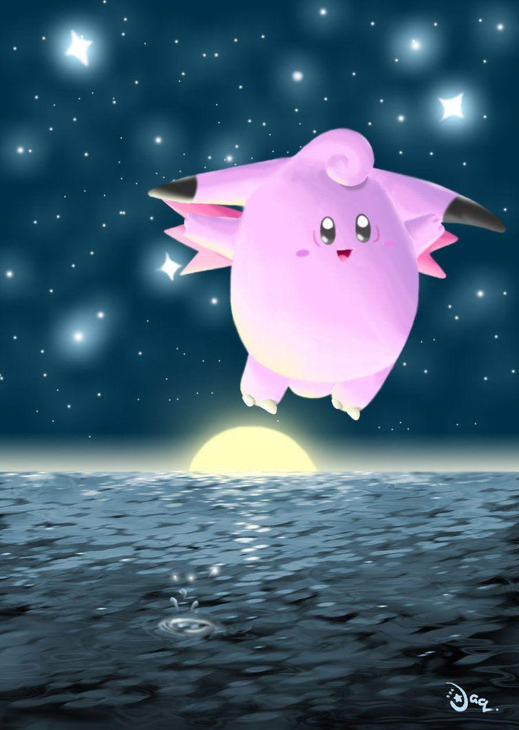 clefable by aquabluu on DeviantArt