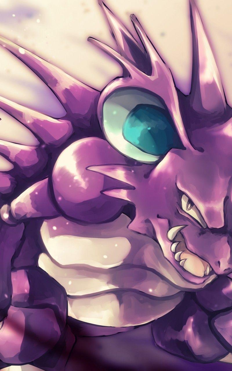Download 800x1280 Pokemon, Nidoking, Artwork Wallpapers for Galaxy ...