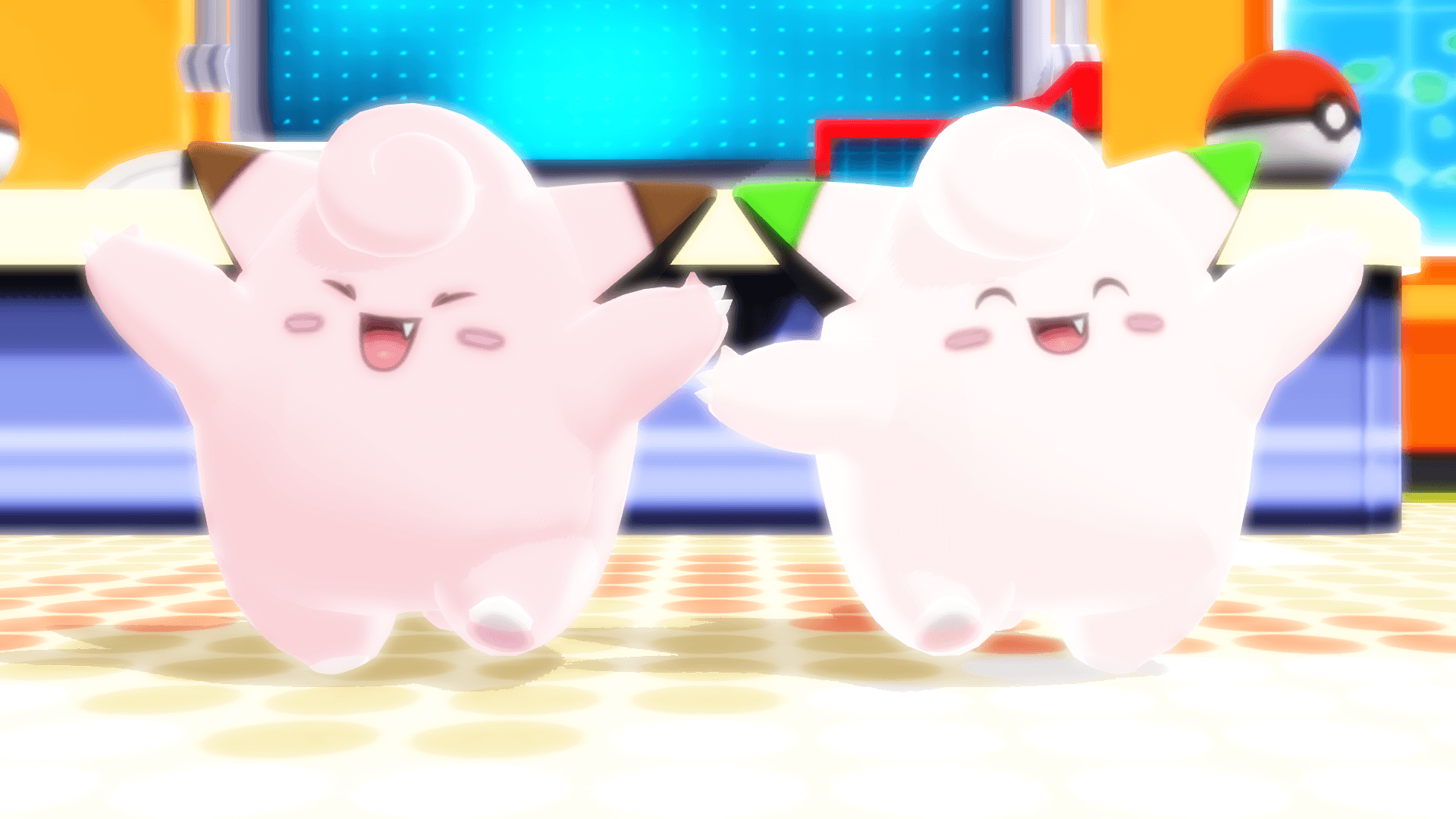 MMD PK Clefairy DL by 2234083174 on DeviantArt