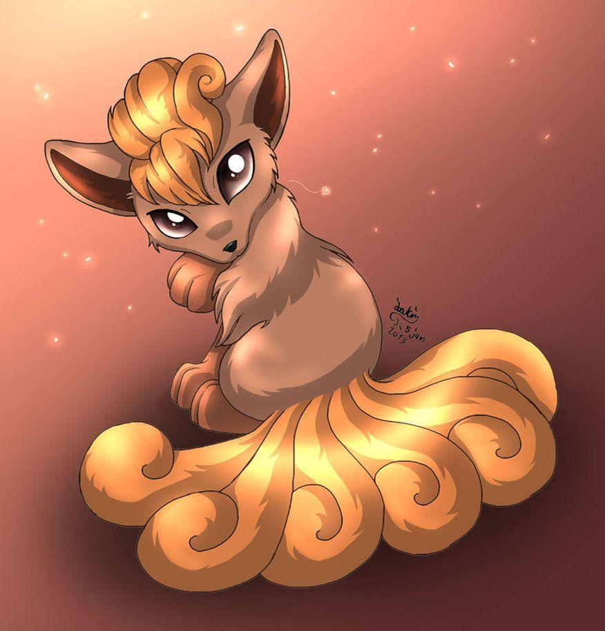 Beautiful Vulpix by Joakaha on DeviantArt
