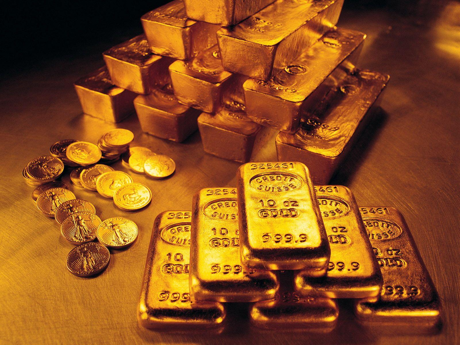 Gold Bars And Coins HD Wallpapers Stock Photos At