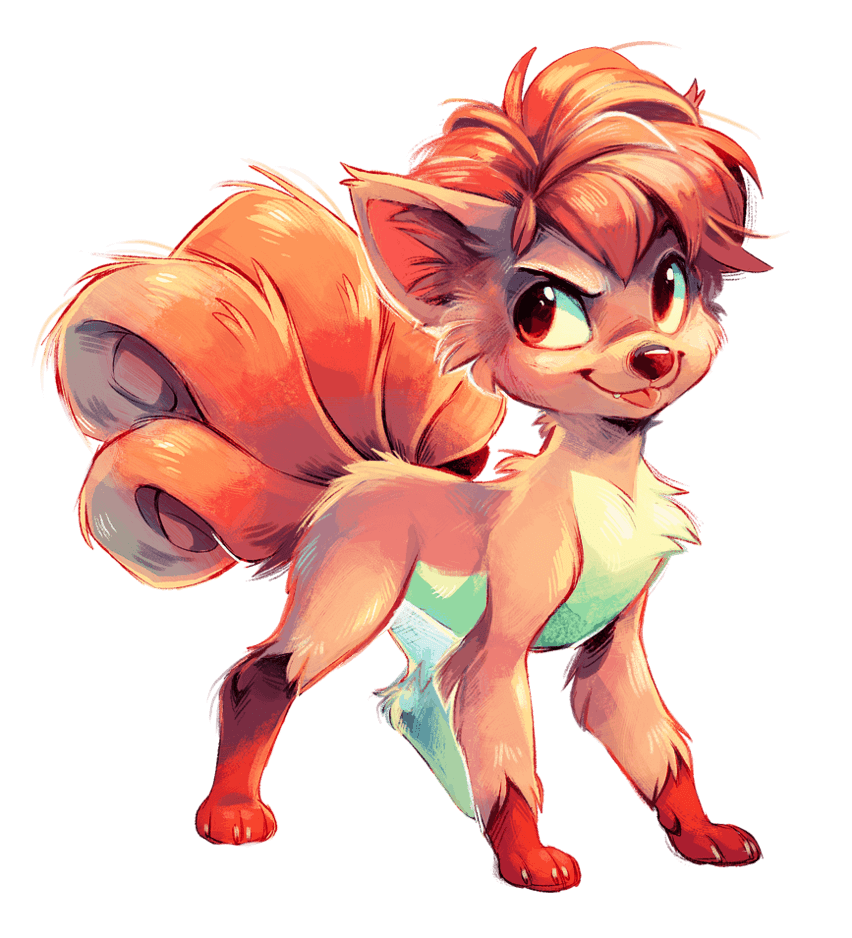 Vulpix by Jeniak on DeviantArt