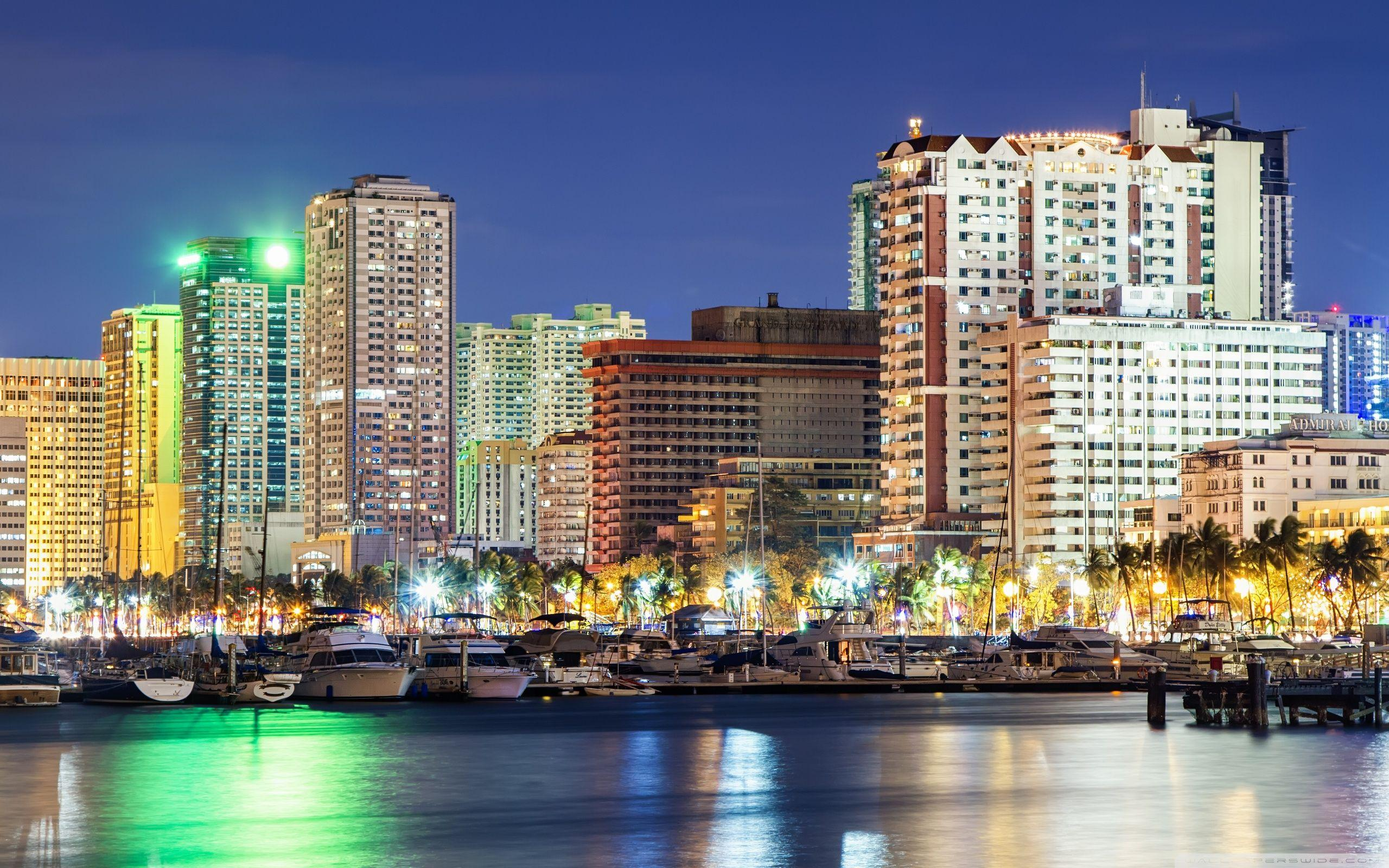 Roxas Boulevard ❤ 4K HD Desktop Wallpaper for 4K Ultra HD TV ...