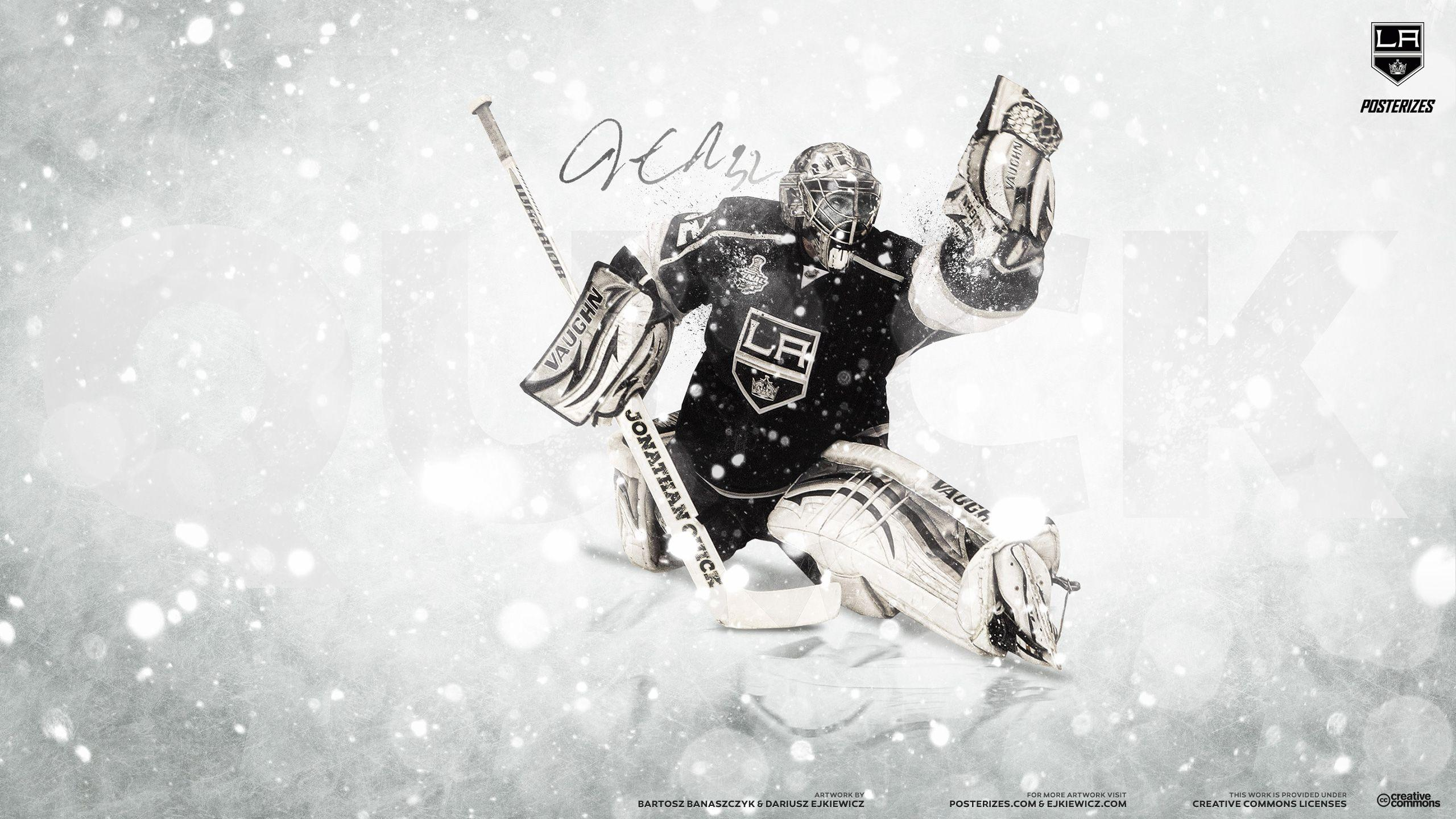 Jonathan Quick Iphone Wallpaper