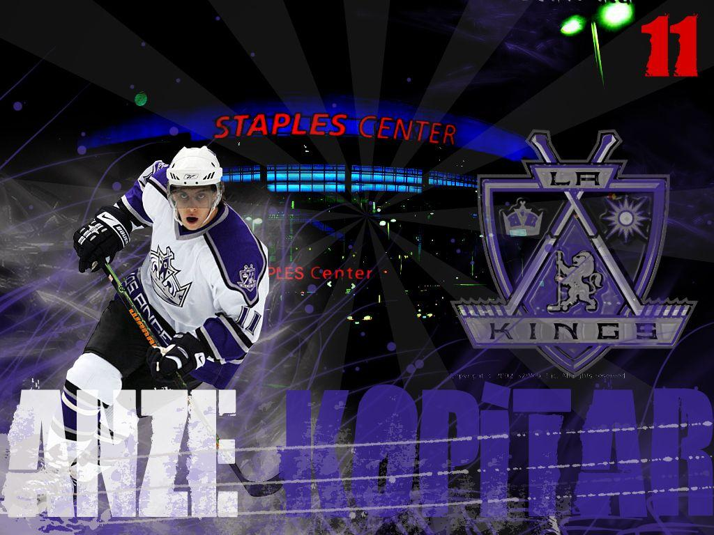 Los Angeles Kings image Anze Kopitar HD wallpapers and backgrounds