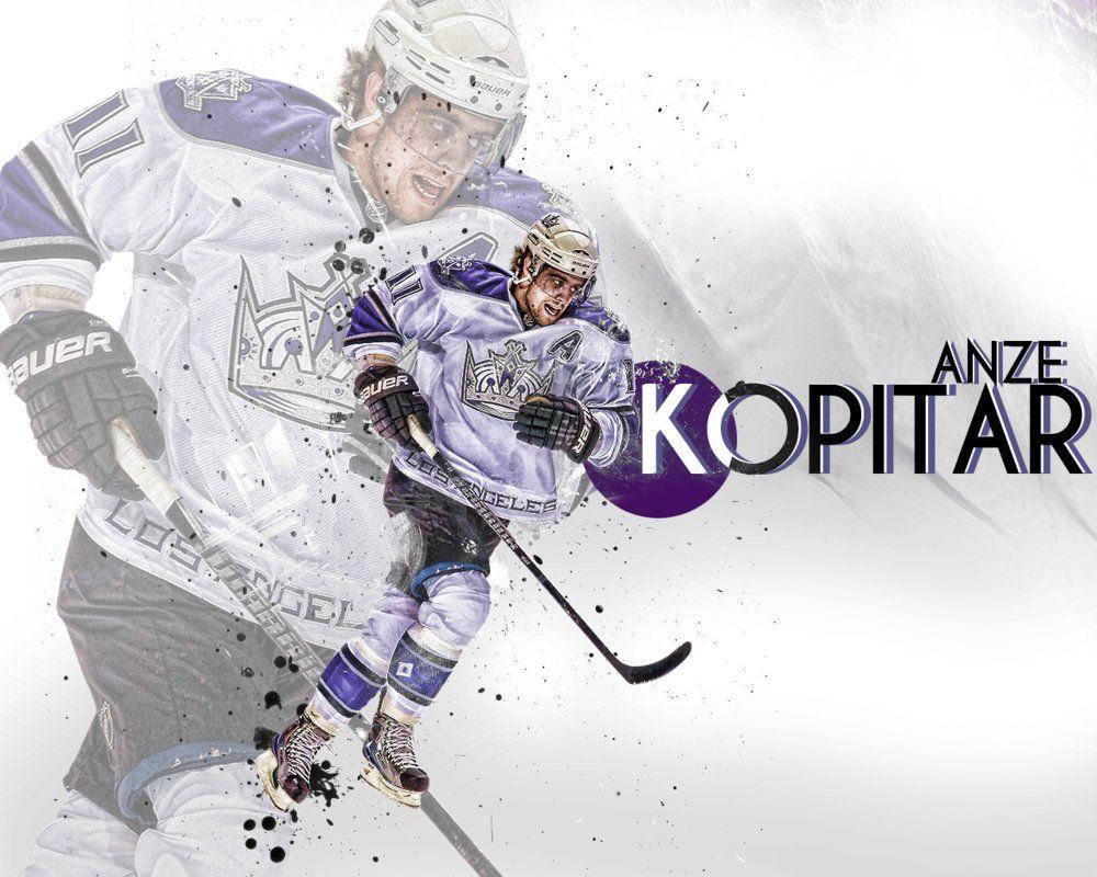 Anze Kopitar Wall by playmaker7