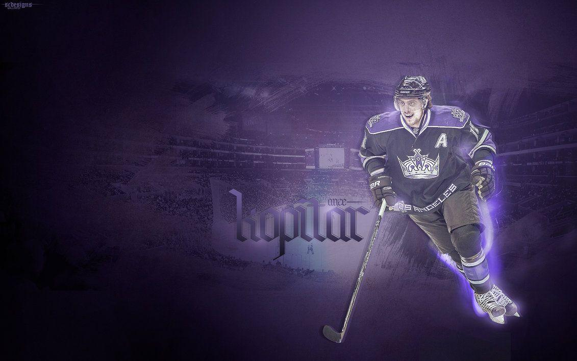 Wallpapers Anze Kopitar [PHOTOSHOP] by sam41