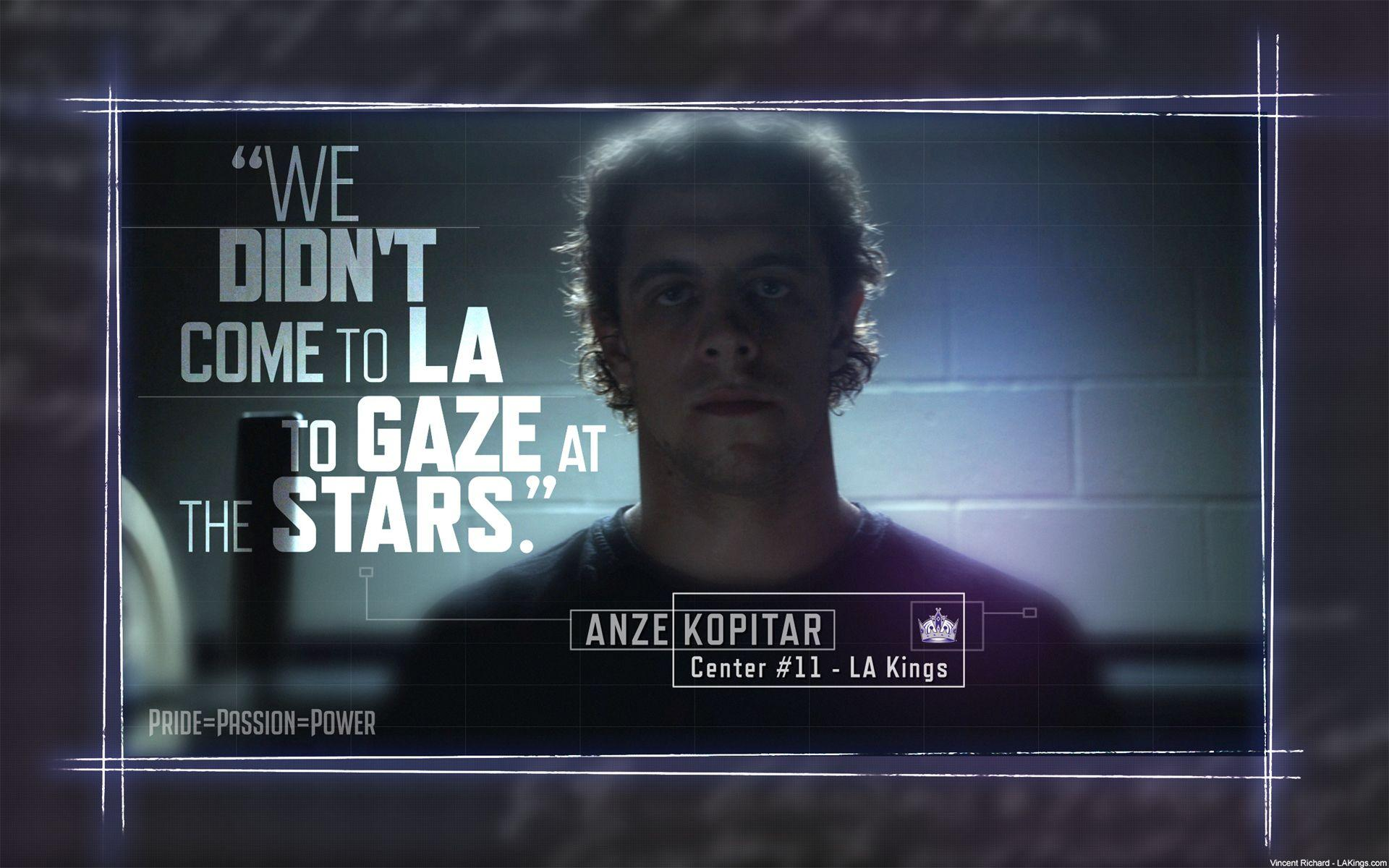Wallpapers Best Hockey player Anze Kopitar » On