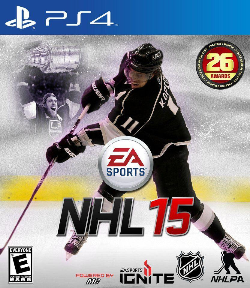 NHL 15 custom cover