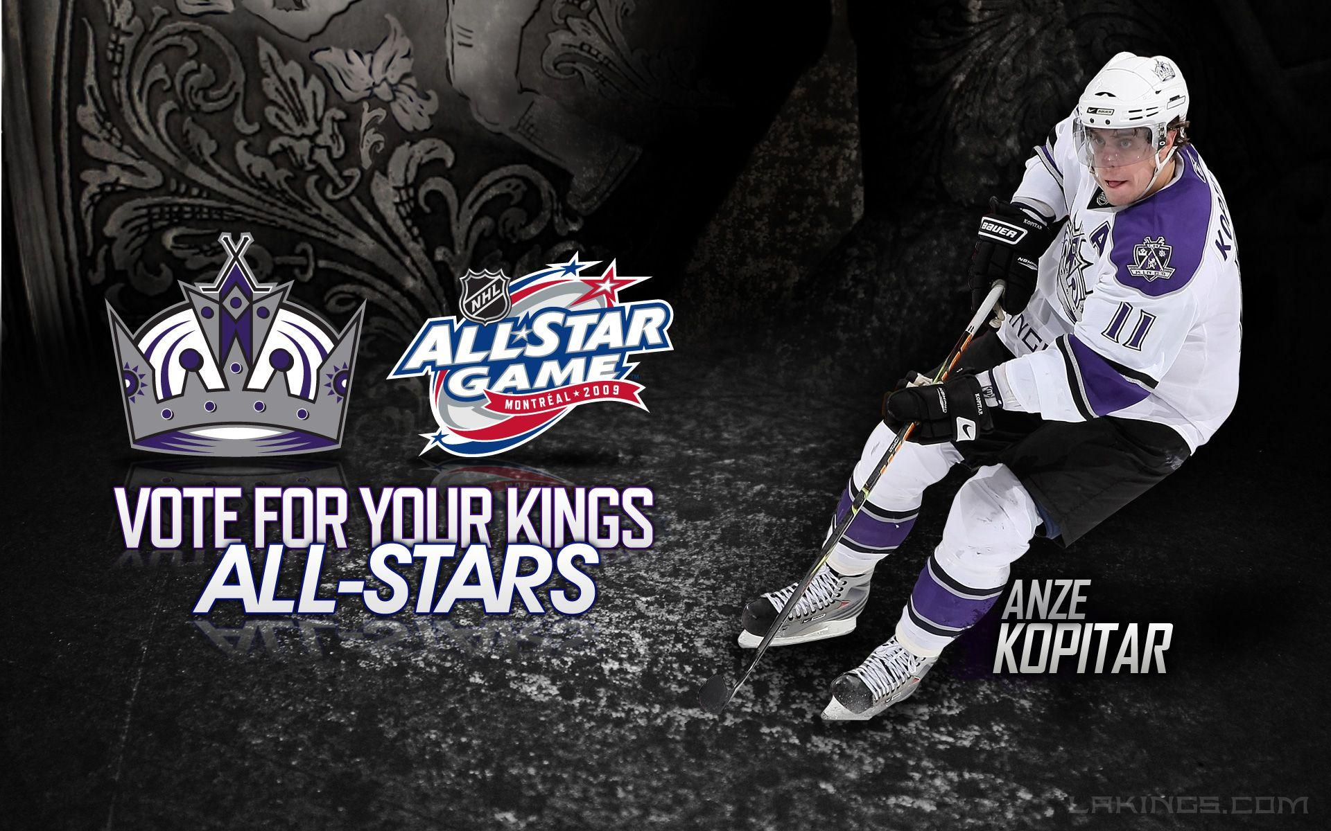Anze Kopitar Los Angeles Kings All Stars 2009