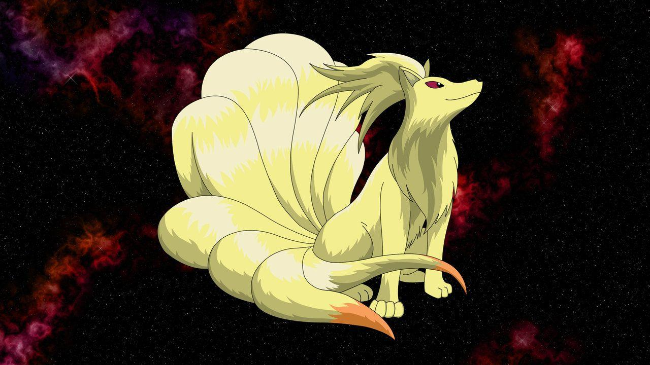Ninetales by TheRealPhoenix