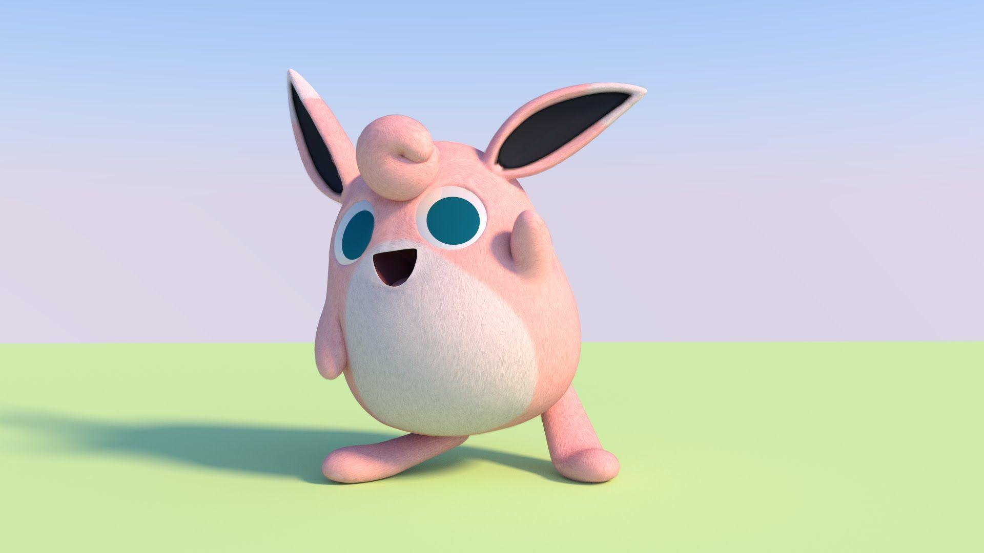 2015) Wigglytuff Test Animation